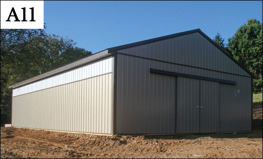 custom post frame ag building a 11