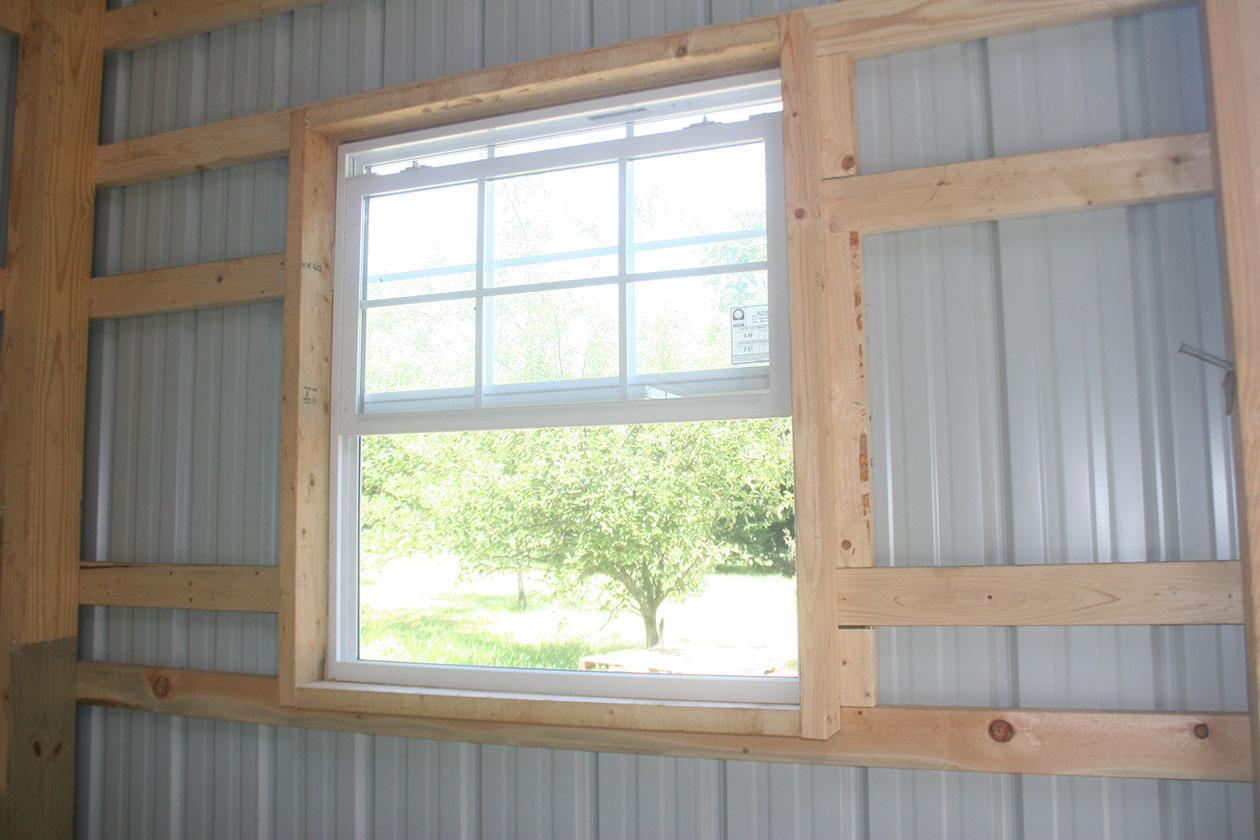 Post Frame Amp Pole Barn Window Options Conestoga Buildings